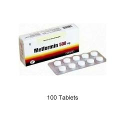 Metformin 500 mg 100 Tablets
