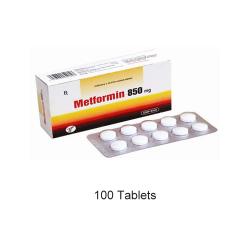 Metformin 850 mg 100 Tablets